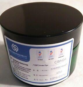 Details about 325/400 mesh Cubic Boron Nitride Micron Black Powder Grinding  Polishing Steel