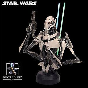 Star-Wars-General-Grievous-Gentle-Giant-Deluxe-Bust-Statue-new