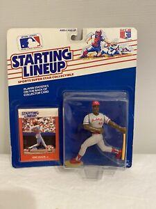 1988 Eric Davis Starting Lineup SLU Cincinnati Reds Edition MLB SLU Figure