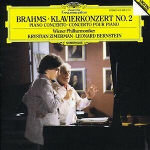 KRYSTIAN-ZIMERMAN-BERNSTEIN-WP-BRAHMS-KLAVIERKONZERT-2-CD-4-TRACKS-NEW