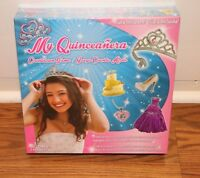 (new Sealed) My Sweet 15 Quinceanera Countdown Board Game Tiara Princess Crown