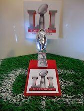 Super Bowl LI (51) Pocket Pro Mini Lombardi Trophy With Stand