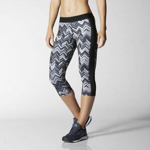 Adidas-Capri-Techfit-Climalite-3-4-Printed-Tights-Mallas-Running-Training-XS