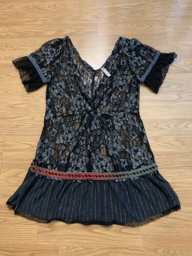 Free People Lace Top Medium