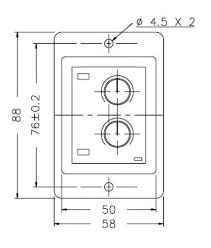 1pc Industrial Twin Timer ATDV-YD 1M 10M 1H 10H AC110//220V 50//60Hz ANLY Taiwan