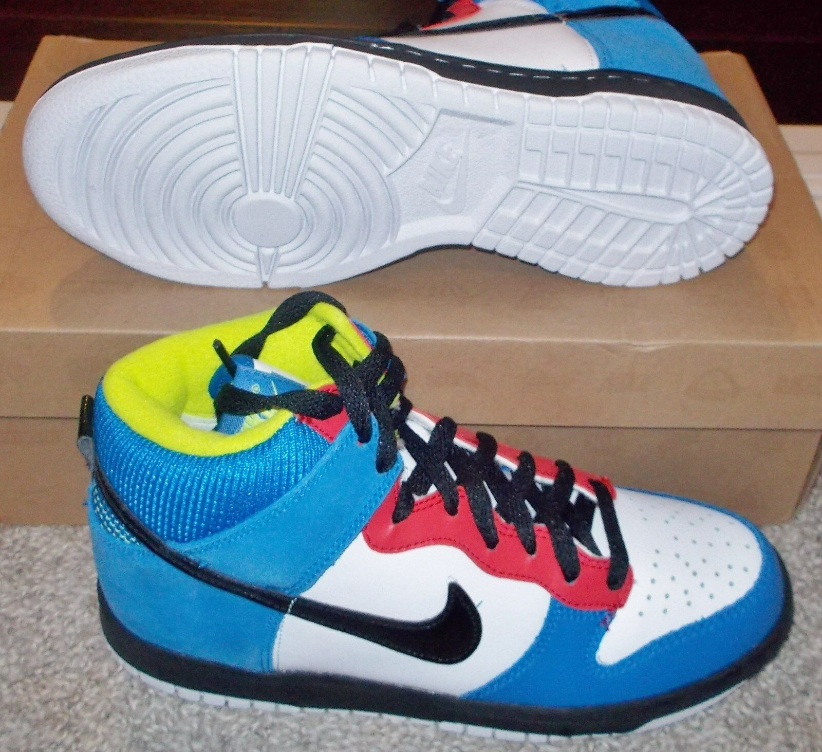 NEW Nike DUNK HIGH Skittles Damenschuhe 6.5 (5Y) LTD NIB sb NR