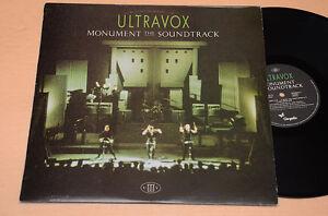 ULTRAVOX-LP-MONUMENT-THE-SOUNDTRACK-1-ST-ORIG-ITALY-1983-AUDIOFILI-EX