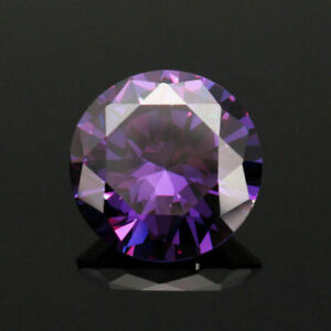20MM-51-16Ct-AAAAA-Natural-Purple-Round-Amethyst-Gem-Diamonds-Cut-VVS-Loose-Gems