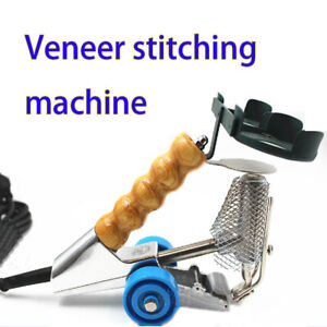 Hand Woodworking Sewing Machine Splicer Veneer Stitching Line Tool Paste Parquet