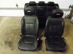 09-11-CHEVROLET-IMPALA-Front-Rear-Black-Leather-Seat-Left-Right-Rear-opt-AR9-OEM