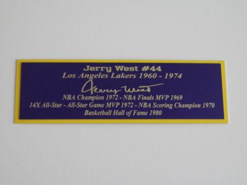 Wilt Chamberlain Autograph Nameplate Los Angeles Lakers Basketball Jersey Photo