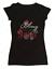 "Women/'s Rhinestone T-Shirt /"" Bling it on Santa /"" S,M,L,XL,2X,3X Christmas"