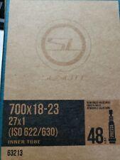 """Sunlite Inner Tube 700x18-23c 27x1/"""" Presta Valve 48mm Mountain Road Bike 63692"""