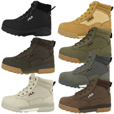 FILA Grunge Mid Shoes Outdoor Boots Retro Trekking Casual Boots 1010107 | eBay