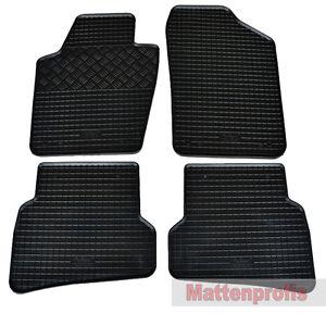 mattenprofi gummimatten gummifu matten f r skoda fabia iii. Black Bedroom Furniture Sets. Home Design Ideas