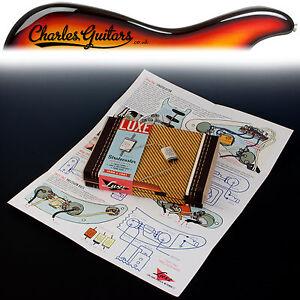 Luxe 1958-1961 Strat Phone Book Paper & Foil Capacitor Kit (lx11020)-afficher Le Titre D'origine Pfacolop-07180952-427776562