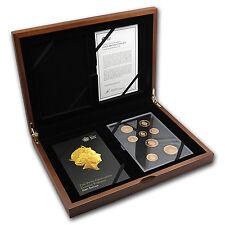 2015 GB 8-Coin Gold First Edition Circulating Pf Set (5th Effigy) - SKU #89396