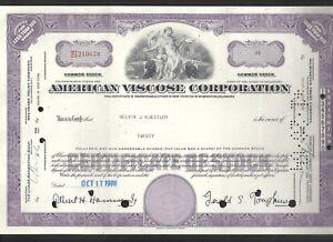 American Viscose Corporation Aktie 17