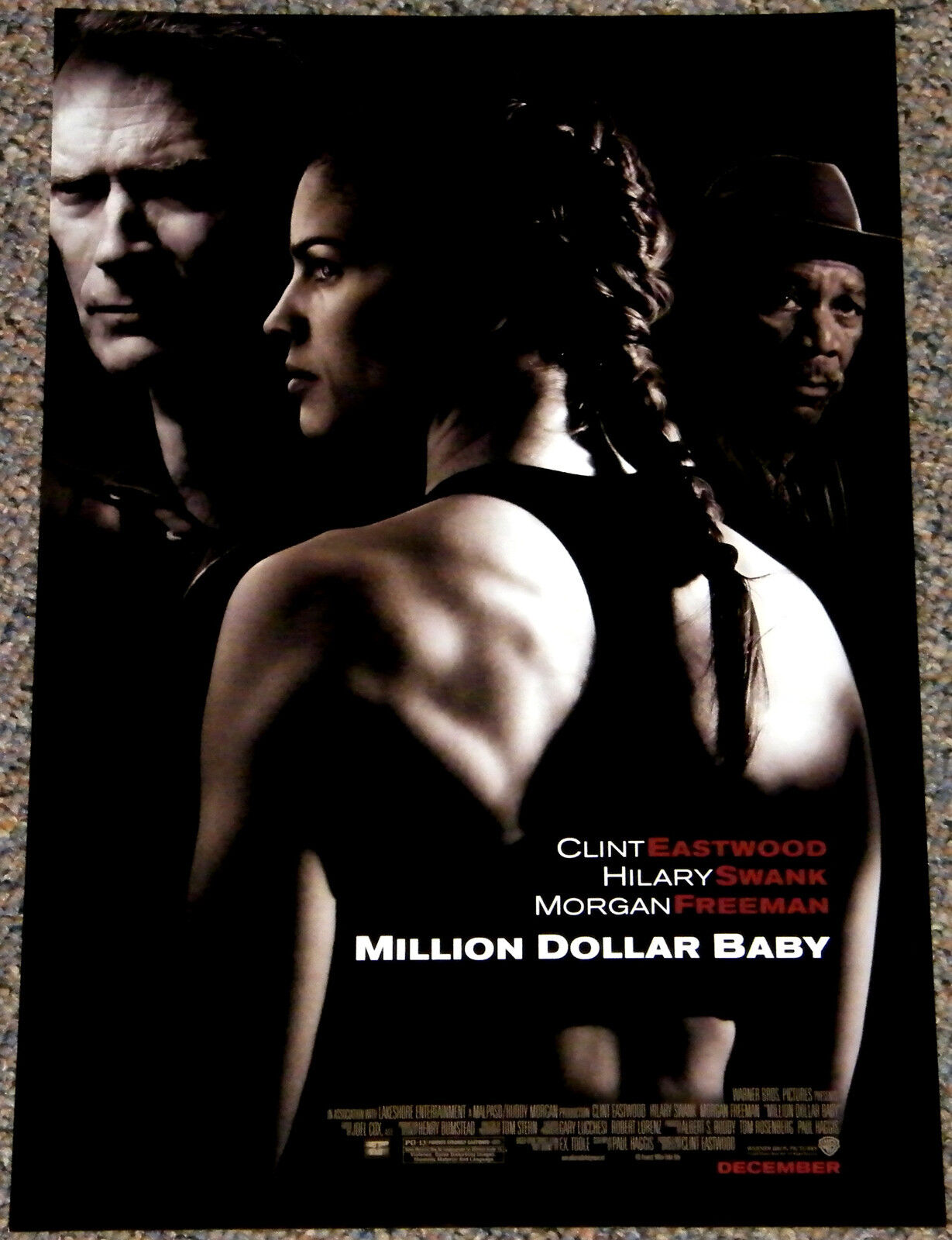 Million Dollar Baby 2004 Orig 11 X 17 Movie Poster Clint Eastwood Boxing Classic For Sale Online Ebay
