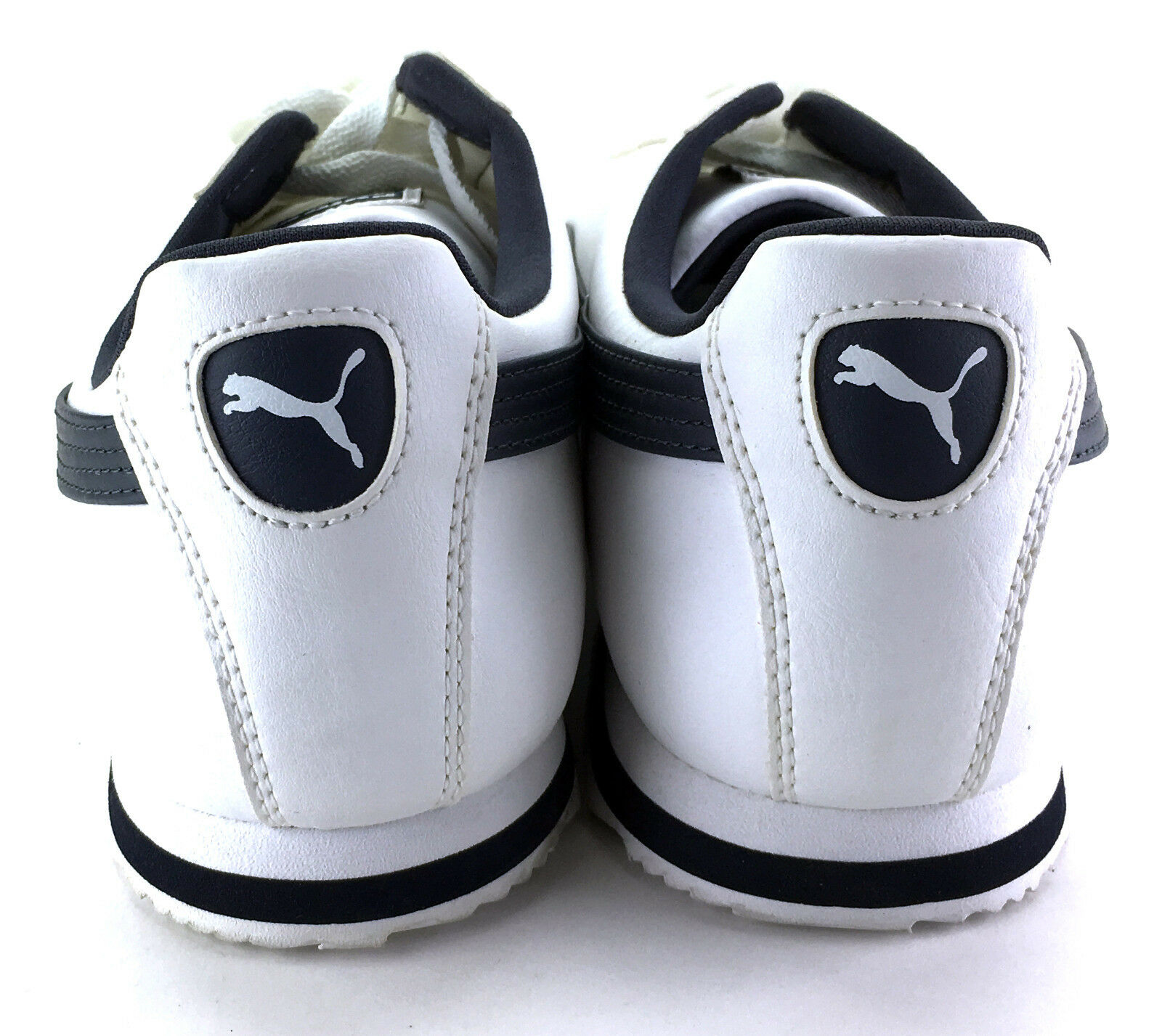 buy online bb5db a0342 ... Puma Shoes Roma Basic Basic Basic Retro White Black Sneakers Size 10  dc1c5e ...