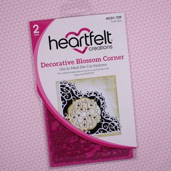 Heartfelt Creations Cut&Emboss Dies Blossom Corner, HCD2-729 ~ RETIRED!