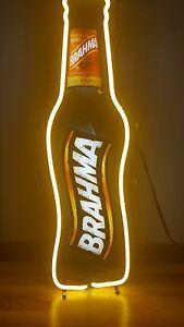 NEON Brahma Beer Brazilian Beer Sign Lighted NEW