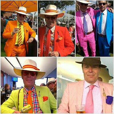 Diszipliniert Crazy Suits Red Suits Orange Suits Pink Suits Turquoise Suits Green Suits Yellow Senility VerzöGern