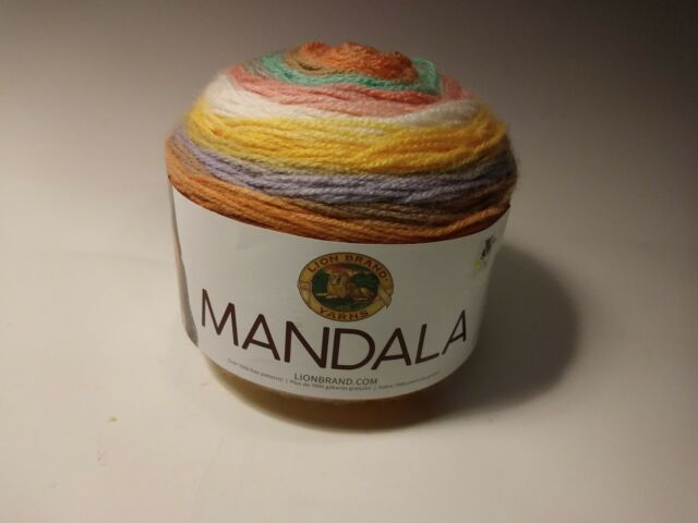 Lion Brand Mandala Yarn Pixie 590 Yds Lot 616161 For Sale Online Ebay