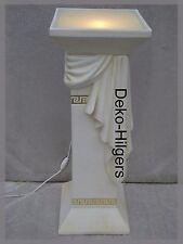 Säule Licht Stehlampe Lampe Stuckgips Säulenlampe Stehleuchte 6860 Medusa F108