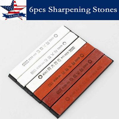 Grindstone Whetstone Stone Set Grit 180# 400# 800# 1500# For Sharpener System