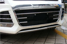 Chrome Front Grille Frame Cover Trim For Ford Kuga Escape MK2 2013 2014 2015 16