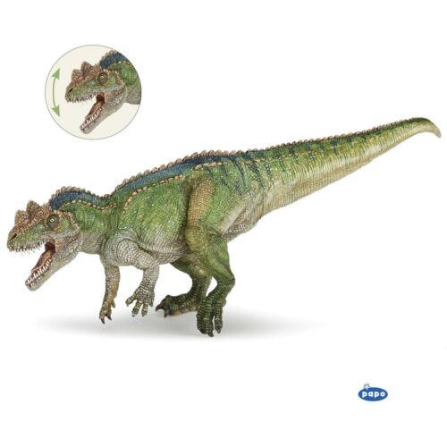Papo Ceratosaurus avec Moving Jaw Dinosaur modèle Figure Jouet-Collection Cadeau