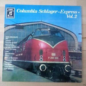 Columbia-Schlager-Express-Vol-2-LP-Vinyl-Schallplatten