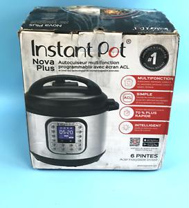 Instant Pot Nova Plus 6 Qt 9-in-1 Multi-Use Programmable
