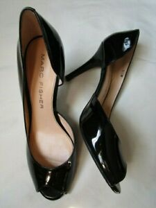 Marc Fisher Black Patent Leather Joey