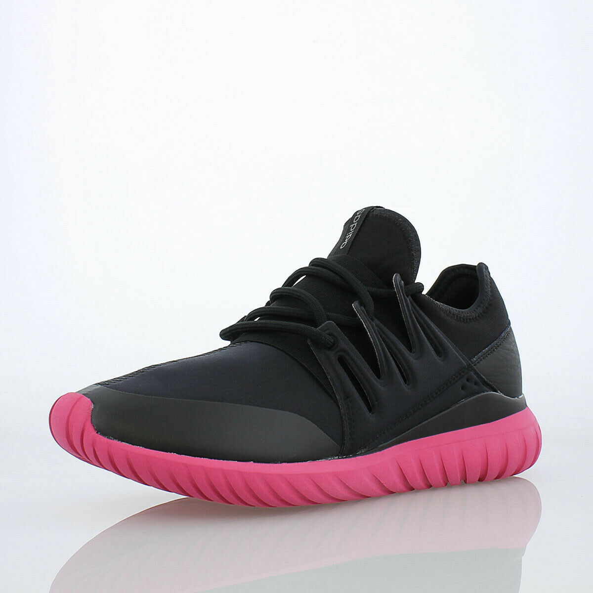 Adidas Tubular Radial Men's shoes Core Black Equipment Pink s75393