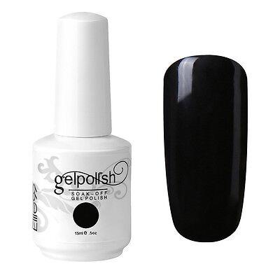 Elite99 15ML Color Gel Polish Soak Off Nail Art Manicure Lacquer Base Top Coat