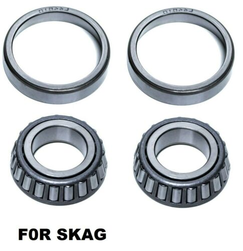 "2 Bearing Kit 1/"" ID 2/"" Race OD Scag 48005-05 48005-04 48668 481895 481896 481657"