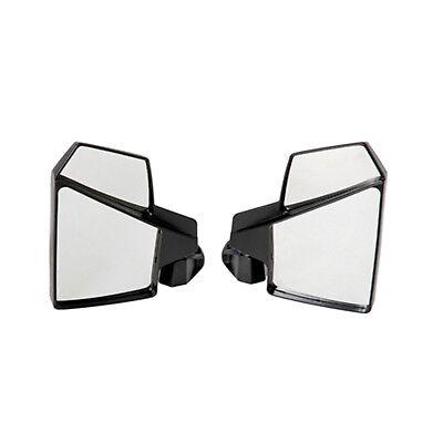 John Deere Gator HPX /& XUV Break-Away Side Mirror Qty-2 Shatter-Resistant Black