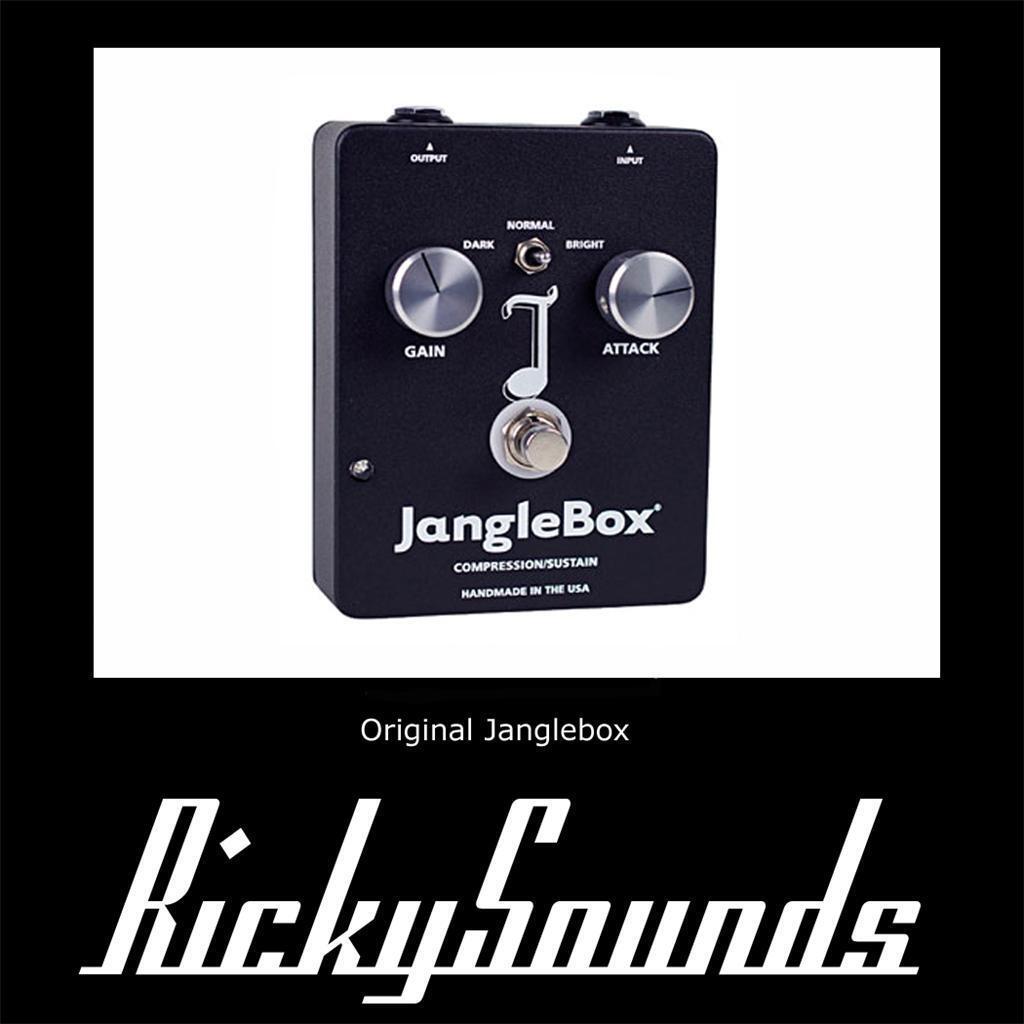 JangleBox-Nuevo Actualizado-Reino Unido Distribuidor Distribuidor Distribuidor Oficial. Perfecto Para Rickenbacker.  grandes precios de descuento