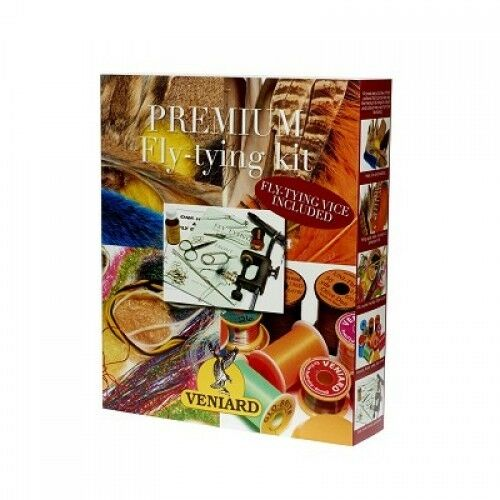Premium Fly Tying Kit from Veniards, includes Vice and loads of materials