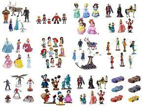 Disney-Figura-Munecos-Juguetes-Frozen-Princesa-Mickey-Mouse-Coches