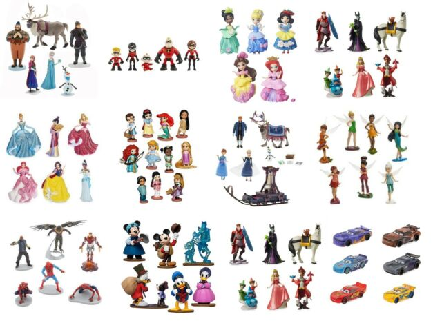 Disney Cars Christmas Clipart.Disney Figure Playsets Figures Figurine Toys Frozen Princess Mickey Mouse Cars