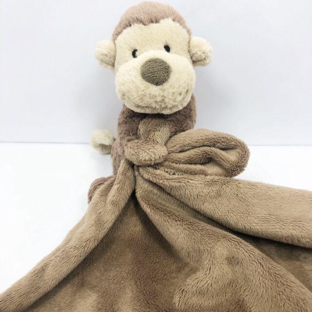 Little Jellycat Bashful Monkey Comforter
