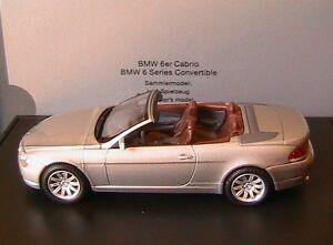 BMW SERIE 6 CABRIO 2004 SCALA 1\43