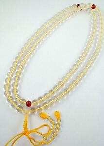 10mm-Tibet-Buddhism-108-White-Synthetic-Crystal-Prayer-Bead-Mala-Necklace