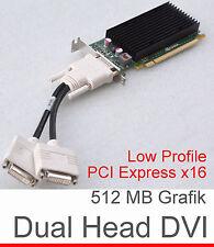 Dualhead 512mb NVIDIA Quadro nvs300 low profile PCI-e 632486-001 tarjeta gráfica g14
