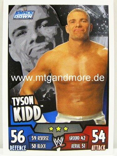 Slam Attax Rumble Tyson Kidd Smackdown