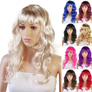 Sexy-Womens-Long-Curly-Full-Wig-Party-Cosplay-Fancy-Dress-Costume-Wigs