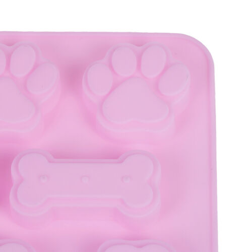 1 stück Hundeknochen Footprint Kuchenform Silikon hundeknochen formen p CL
